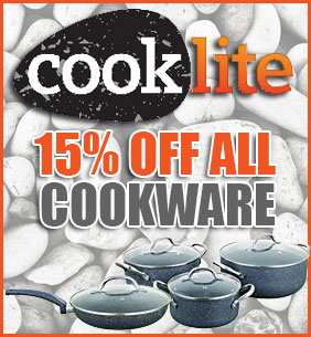 15% Off All Cooklite Pans