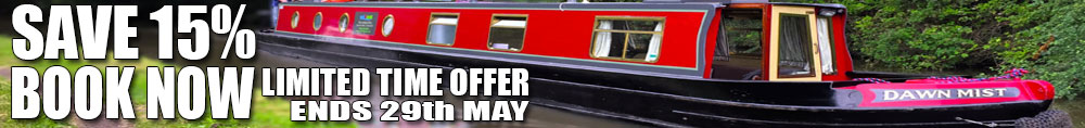 Save 15% Booking Before 29th May