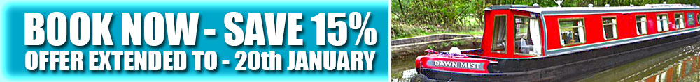 Save 15% Booking Before 20th January