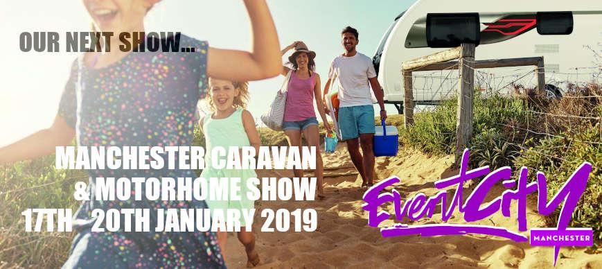 Manchester Caravan & Motorhome Show 2019