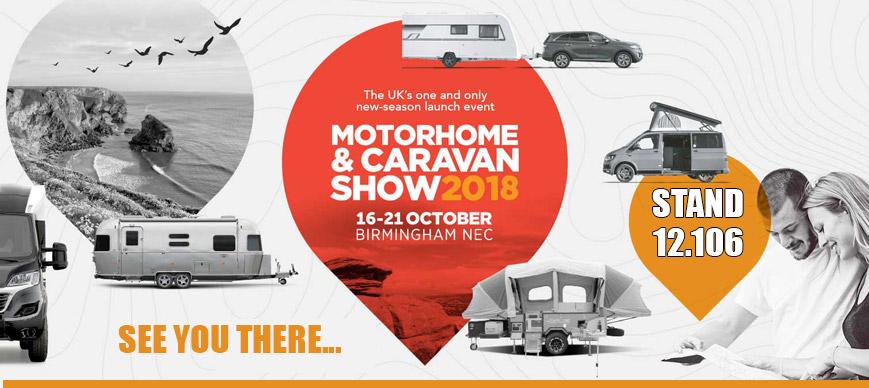 Motorhome & Caravan NEC October 2018