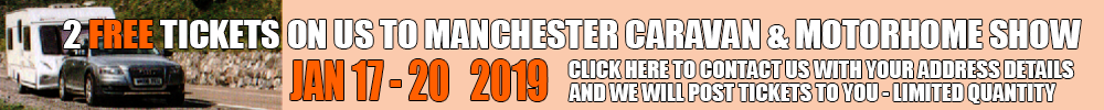FREE Tickets to Manchester Caravan & Motorhome Show