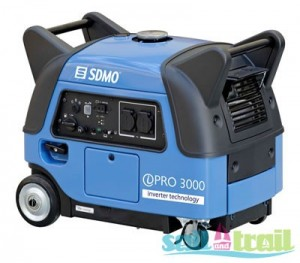 SDMO quiet generator for camping and caravanning
