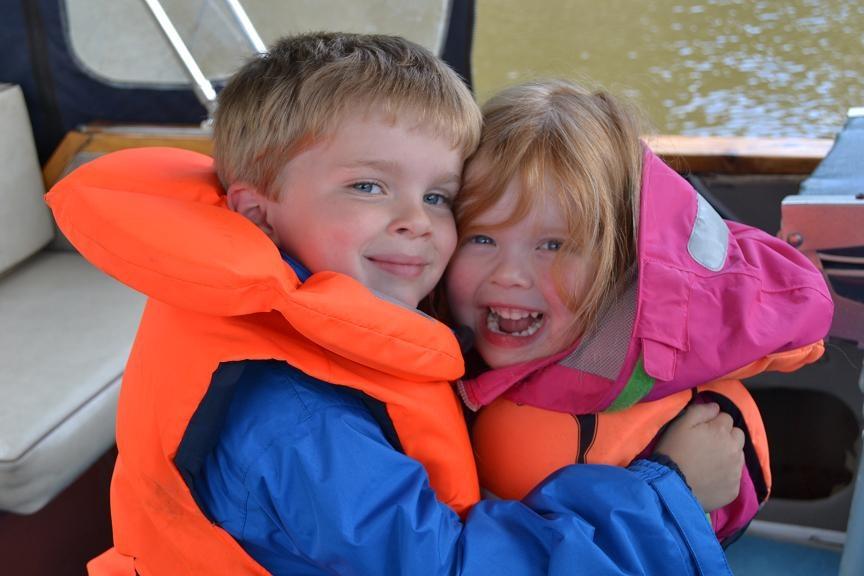 boating sailing children kids