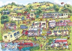caravan christmas jigsaw